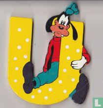 Disney Letters: U : Goofy