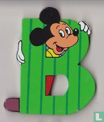 Disney Letters : B: Mickey Mouse