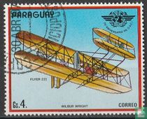 Biplane of the Wright brothers