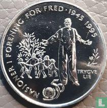 "Noorwegen 5 kroner 1995 ""50th anniversary of the United Nations"""