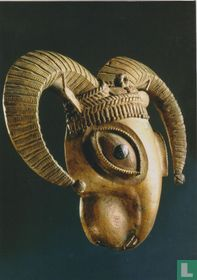 Pendant in the shape of the head of a ram