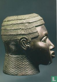 Commemorative head of Oba (king)