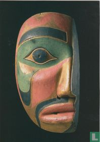 Kwaiutl half mask