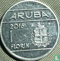 Aruba 1 florin 2016 (sails of a clipper with star)
