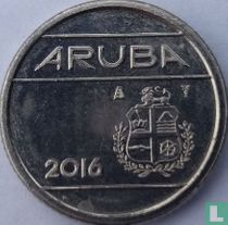 Aruba 10 cent 2016 (sails of a clipper without star)