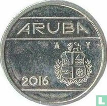Aruba 10 cent 2016 (sails of a clipper with star)