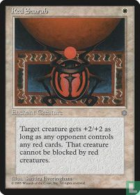 Red Scarab