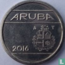 Aruba 5 cent 2016 (sails of a clipper without star)