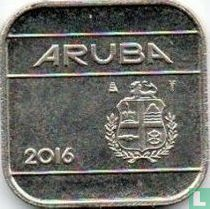 Aruba 50 cent 2016 (sails of a clipper without star)