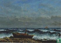 Stürmische See oder Die Welle, 1869