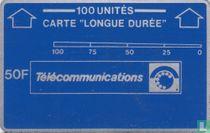 """Carte """"longue durée"""" 100 unités"""