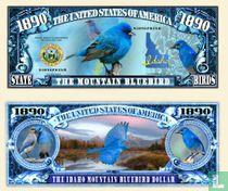 THE MOUNTAIN BLUEBIRD - VOGEL BILJET