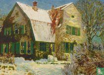Barkenhoff im Schnee (um 1910)