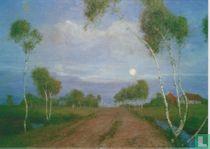 Abend im Moor, 1896