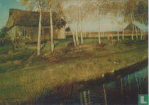 Herbstmorgen am Moorkanal, 1895
