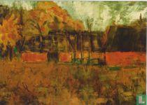 Bauernhäuser im Herbst, 1925