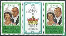 Zilveren jubileum koningin Elizabeth II