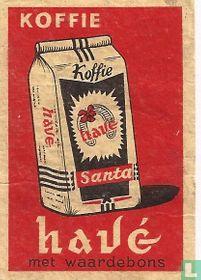 Koffie Havé Santa