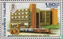 Opening post gebouw