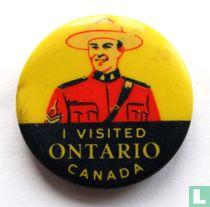 I visited Ontario Canada