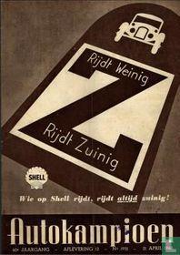 Autokampioen 12 1951