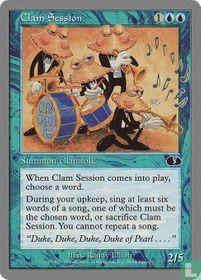 Clam Session