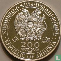 """Armenië 200 dram 2014 """"Noah's Ark"""""""