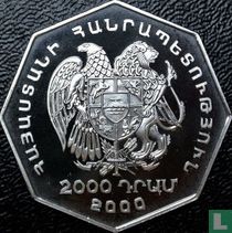 "Armenië 2000 dram 2000 (PROOF) ""Millennium"""