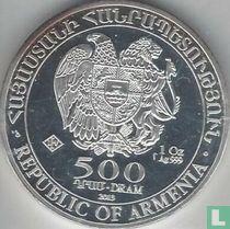 """Armenië 500 dram 2013 """"Noah's Ark"""""""