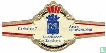 Lunchroom Zandstra - Kerkplein 7 - Assen tel. 05920-2928