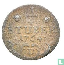 Oost-Friesland ¼ stuber 1764