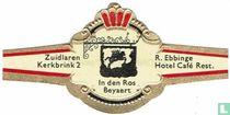 In den Ros Beyaerd - Zuidlaren Kerkbrink 2 - R. Ebbinge - Hotel Café Rest.