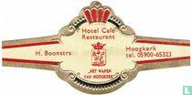 """Hotel Café Restaurant """"Het Wapen van Hoogkerk"""" - H. Boonstra - Hoogkerk tel. 05900-65323"""