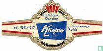 Café Rest. Dancing Kuiper - tel. 05924-217 - J. Hofsteenge Rolde
