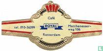 Café ROYAL Rotterdam - tel. 010-36399 - Matthenesser-weg106