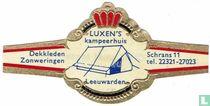 LUXEN'S kampeerhuis Leeuwarden - Dekkleden Zonweringen - Schrans 11 tel. 22321-27023