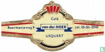 Café van der Hoek Usquert - Boermanjeweg 9 - tel. 05950-2940
