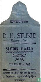 D.H. Stukje Restaurateur Station Almelo