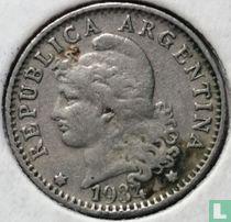 Argentinië 5 centavos 1934