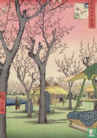 Plum garden, Kamata, 1857