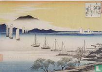 Returning Sails at Yabase, 1834