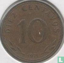 Bolivia 10 centavos 1971