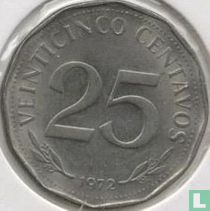 Bolivia 25 centavos 1972