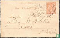 Mouchon type briefkaart