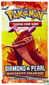 Booster - Diamond & Pearl - Mysterious Treasures (Garchomp)