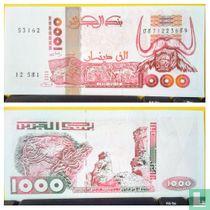 Algerije 1000 Dinars 1998
