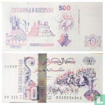 Algerije 500 Dinars 1998