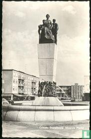 Geleen, standbeeld Nieuwe Markt