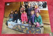 Kinderen van basisschool De Nieuwebrug - Ommen