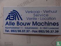 Alle Bouw Machines